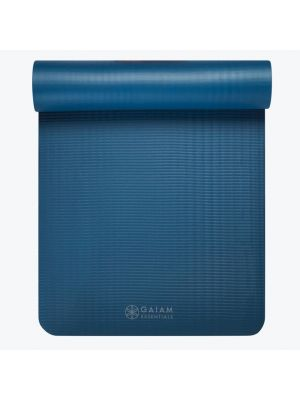 Gaiam Essentials Gray joogamatt kanderihmaga