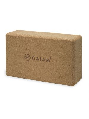 Gaiam Cork Brick joogablokk