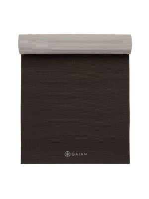 Gaiam 2-Color Granite Storm joogamatt