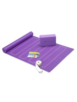 Gaiam Yoga For Beginner joogakomplekt