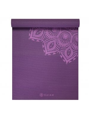 Gaiam Premium Purple Mandala joogamatt