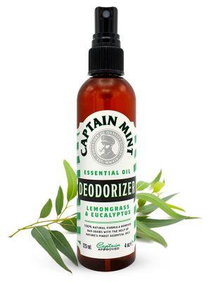 Captain Mint Essential Oil Deodorizer puhastusvahend - eukalüpt & sidrunhein