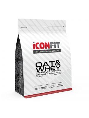 Iconfit OAT&WHEY Progainer massilisaja 1,4kg Šokolaadi