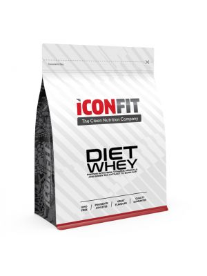 Iconfit Diet WHEY proteiin - Maasika 1kg