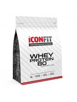 Iconfit Whey Protein 80 proteiinipulber 1kg Cappuccino