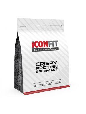 Iconfit Crispy Protein hommikusöök 500g 10 toidukorda - Kookose-Vaarika - Naturaalne