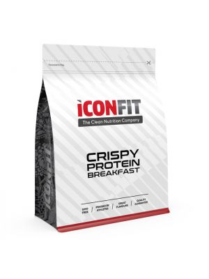 Iconfit Crispy Protein hommikusöök 500g 10 toidukorda - Kookose-Mustsõstra - Naturaalne