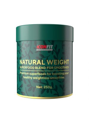 Iconfit Natural Weight supertoidusegu smuutidele - Toorkakao 250g