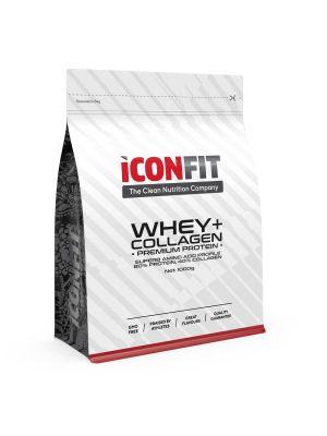 Iconfit WHEY+ Collagen Premium proteiinipulber - 1kg - Šokolaadi