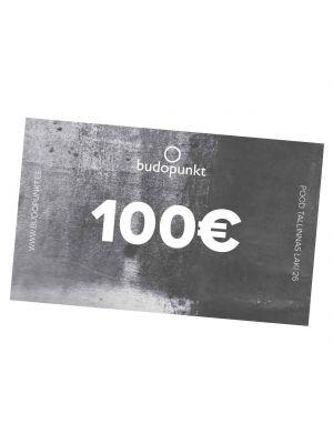 100€ Budopunkti kinkekaart