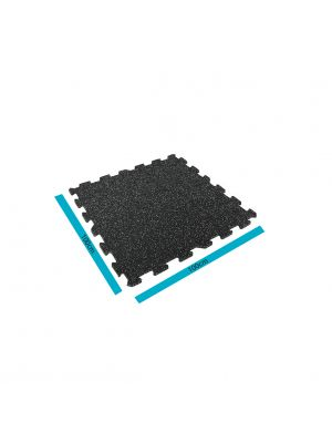 Livepro Black Rubber Flooring kummiplaat