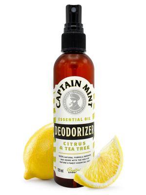 Captain Mint Essential Oil Deodorizer puhastusvahend - sidrun & rosmariin