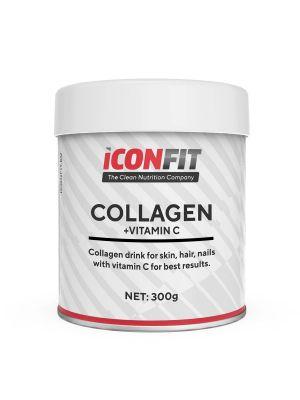 Iconfit Kollageen + Vitamiin C - Nahk, Küüned, Juuksed 300g Jõhvika