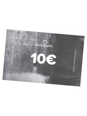 10€ Budopunkti kinkekaart