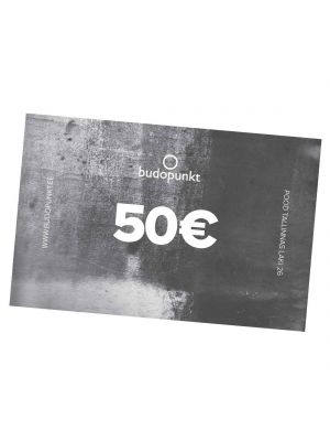 50€ Budopunkti kinkekaart