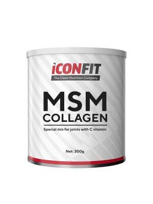 Iconfit MSM Kollageen + Vitamiin C - Liigestele, 800g Jõhvika