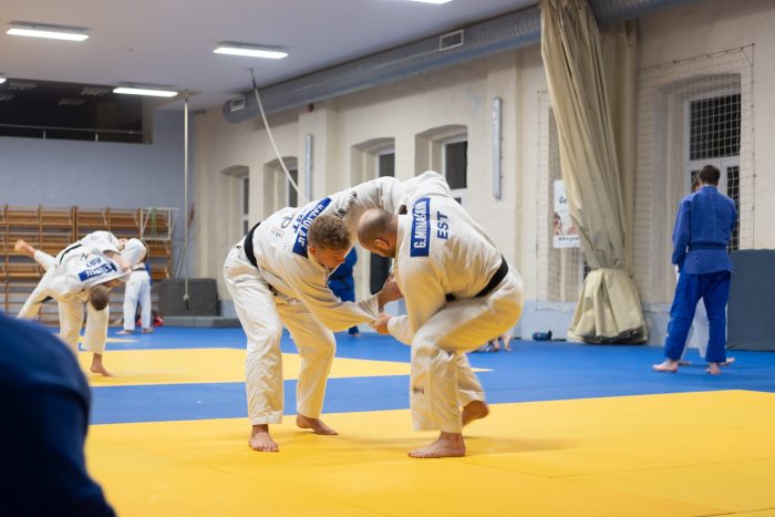 Judo koondise treening