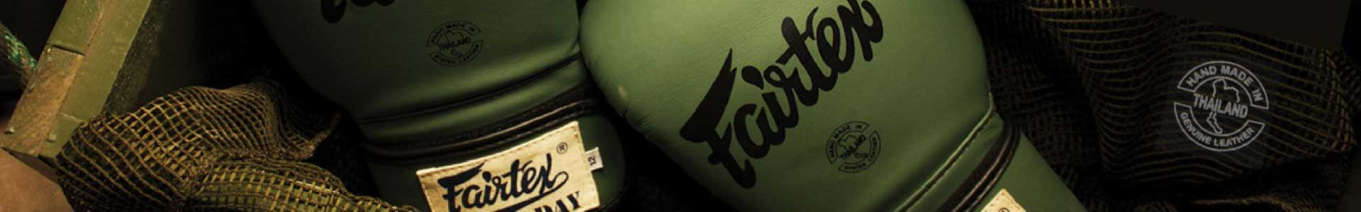 Budopunkt Fairtex Muay Thai equipment