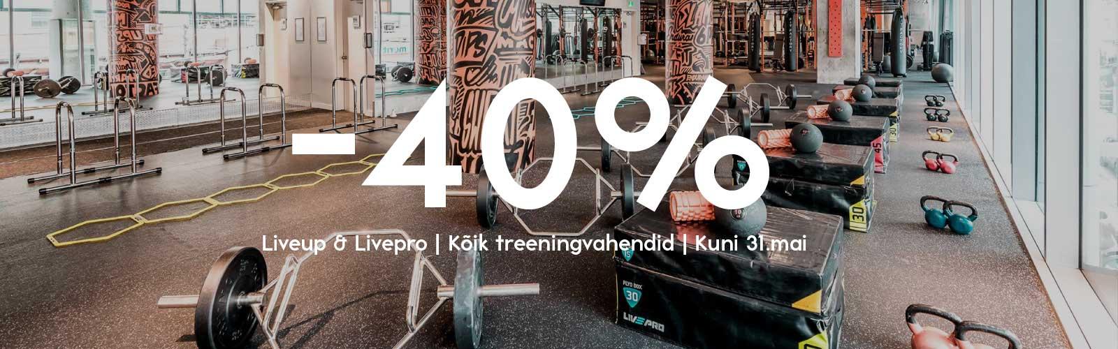 Treeningvahendid -40%