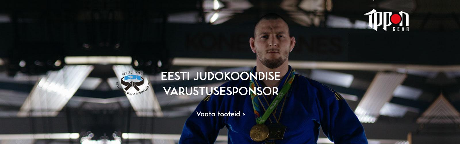 Budopunkt ja Ippon Gear on Eesti Judokoondise varustusesponsor